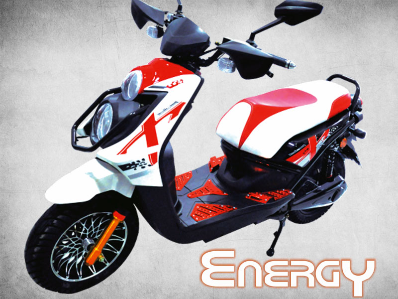 MOTO ELECTRICA Ref. ENERGY POT. 2500W, VEL. 73 Km/Hr SCOOTER